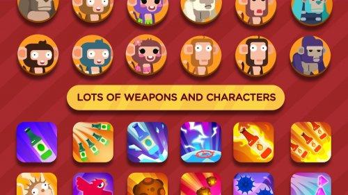 Скриншот для Monkey Attack: War Fight - 3