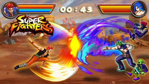 Скриншот для King of Fighting: Super Fighters - 2