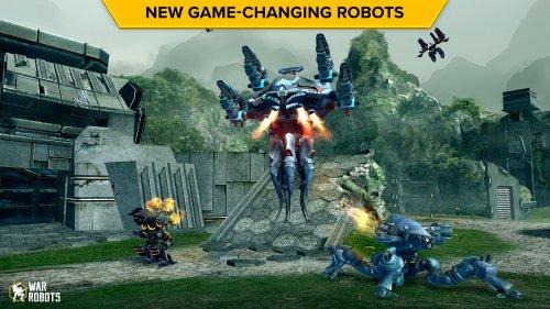 Скриншот для Бесконечные роботы - 2