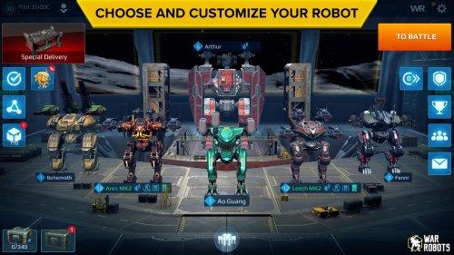 Скриншот для Бесконечные роботы - 3