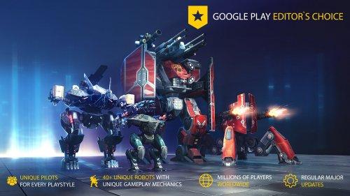 Скриншот для Бесконечные роботы - 1