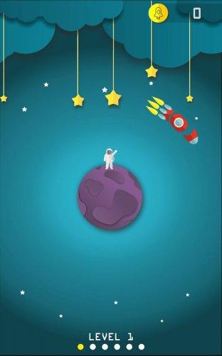 Скриншот для Paper Space: Go Hit the Rocket - 1