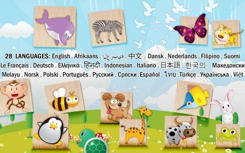 Скриншот для Animals Blocks Puzzle for kids - 3