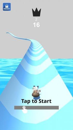 Скриншот для Waterpark Slide.io - 1