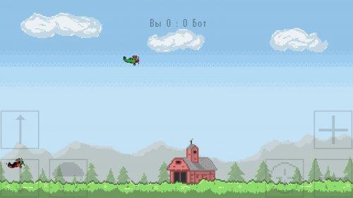 Скриншот для WI-Fi Biplanes - 1