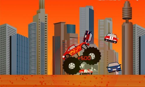 Скриншот для Monster Truck Destroyer - 1