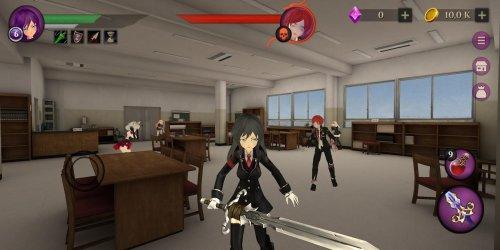 Скриншот для Anime High School Zombie Simulator - 1