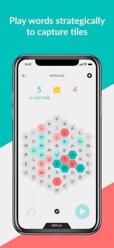 Скриншот для Hexicon: Strategy Word Game - 3