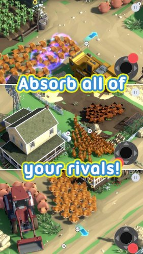 Скриншот для Clash of Crowds - 3