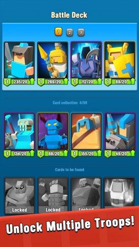 Скриншот для Tower Clash - 3