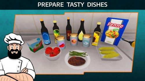 Скриншот для Cooking Simulator Mobile - 1