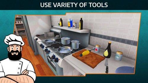 Скриншот для Cooking Simulator Mobile - 2