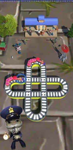 Скриншот для Toy Train Master- Train Puzzle Game - 3