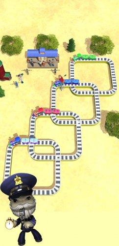 Скриншот для Toy Train Master- Train Puzzle Game - 2
