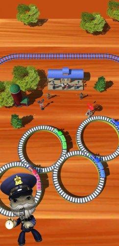 Скриншот для Toy Train Master- Train Puzzle Game - 1