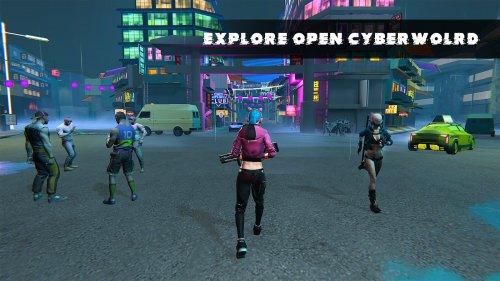 Скриншот для Cyberworld Online: Open World RPG - 1