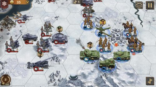 Скриншот для Glory of Generals 3 - 2