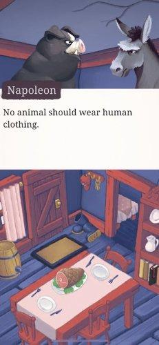 Скриншот для Orwell's Animal Farm - 3