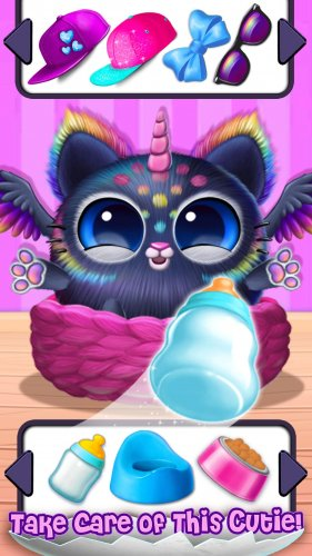 Скриншот для Smolsies - My Cute Pet House - 3