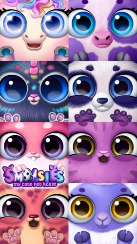 Скриншот для Smolsies - My Cute Pet House - 2
