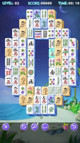 Скриншот для Mahjong 2019 - 1