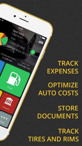 Скриншот для Контроль за автомобильными расходами - 2