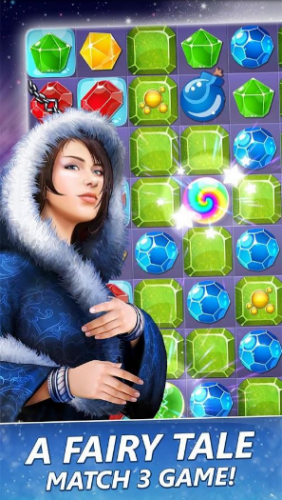 Скриншот для Season match puzzle adventure - 1