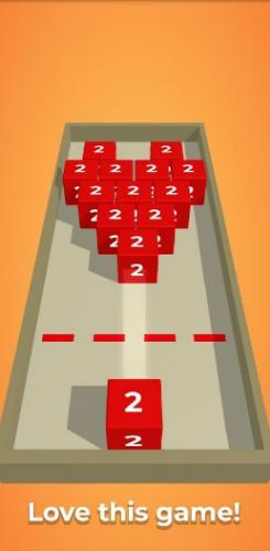Скриншот для Chain cube: 2048 - 3