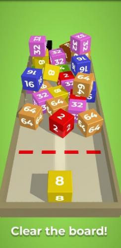 Скриншот для Chain cube: 2048 - 2