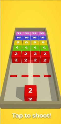 Скриншот для Chain cube: 2048 - 1
