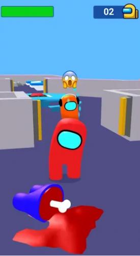 Скриншот для Red imposter: nightmare сhristmas - 3