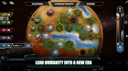 Скриншот для Terraforming mars - 1