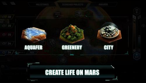 Скриншот для Terraforming mars - 3