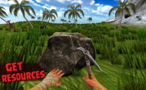 Скриншот для Island is home 2 survival simulator game - 1