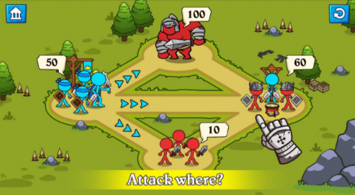 Скриншот для Stick clash - 1